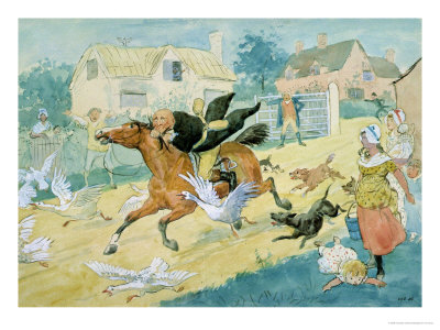 John Gilpin Riding to Edmonton by Randolph Caldecott