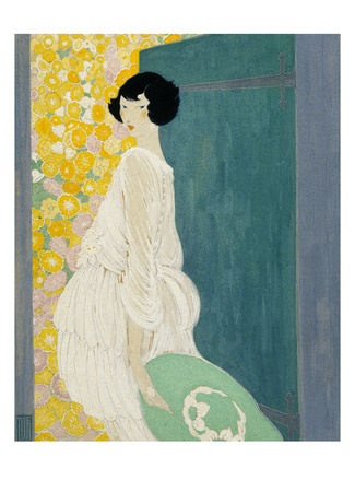 <i>Vogue</i> cover, May 1920, by Helen Dryden