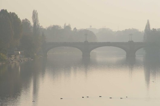 Bridge in the Haze