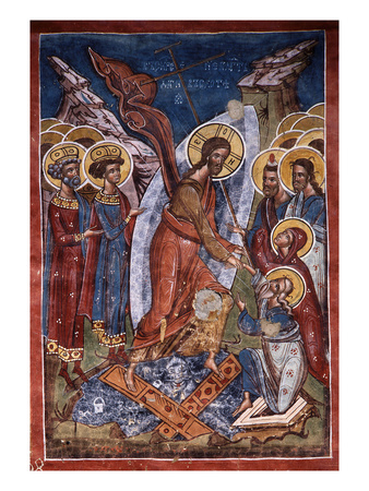 Icon of the Harrowing of Hell, or Christ's Descent into Limbo