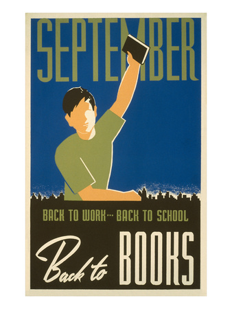 September - Back to Books